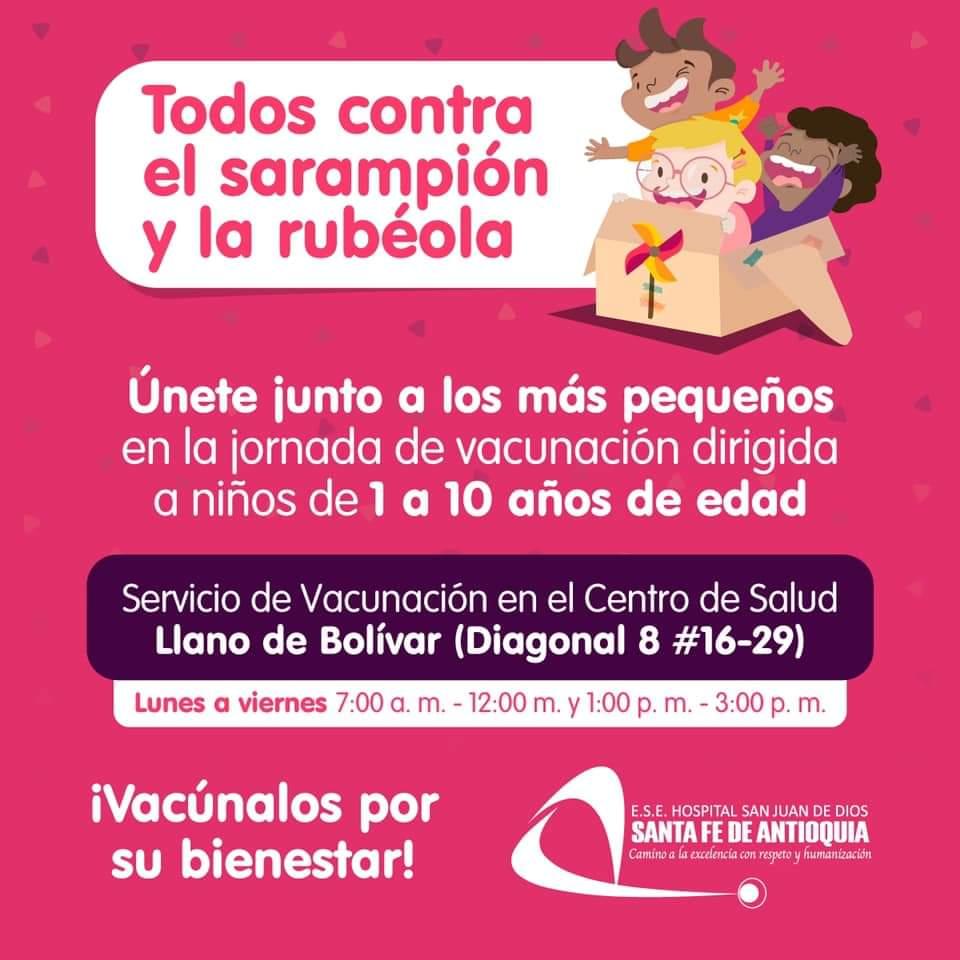 vacunacion niños